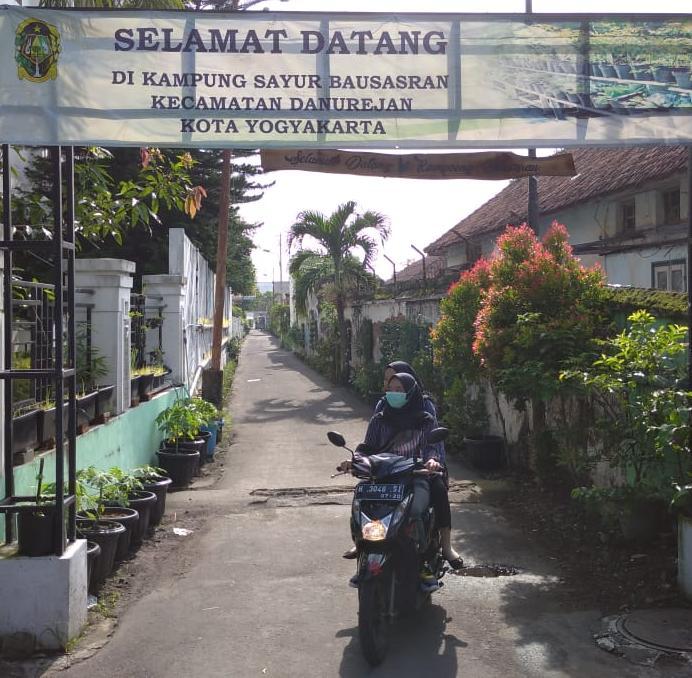 Kampung sayur Bausasran