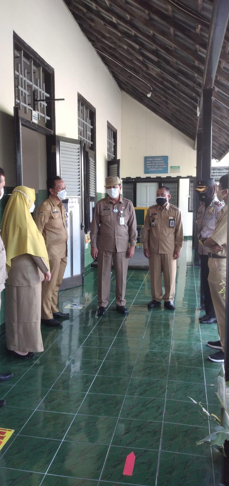 Peninjauan Pelaksanaan Vaksin di BOPKRI I Yogyakarta